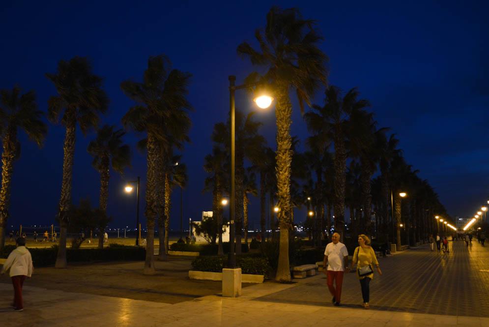 Strandboulevard Valencia