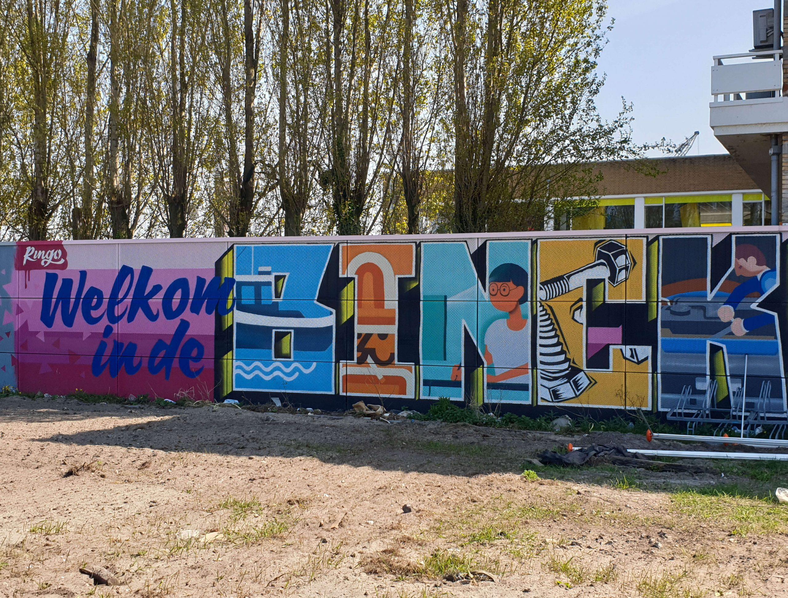 Street Art route Binckhorst Den Haag
