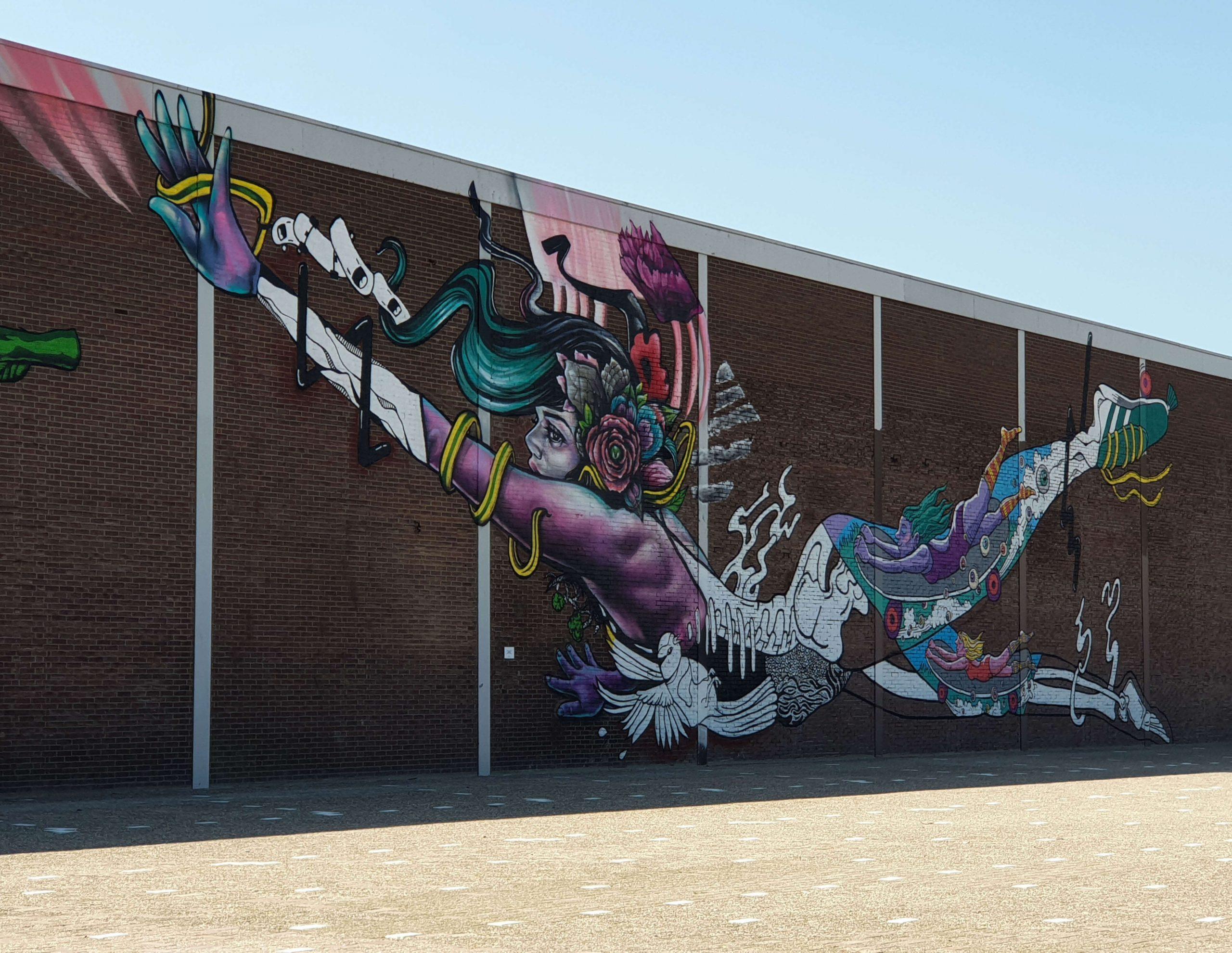 Street Art Fokker Terminal