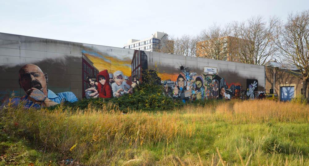 StreetArt - Calandkade - Den Haag