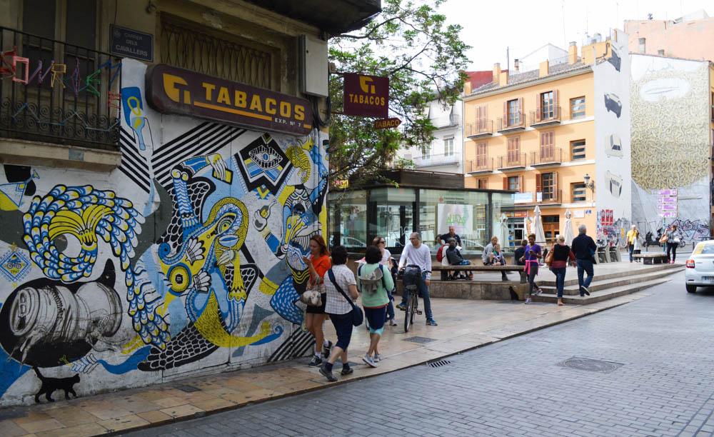 Weekendje weg Valencia - Streetart