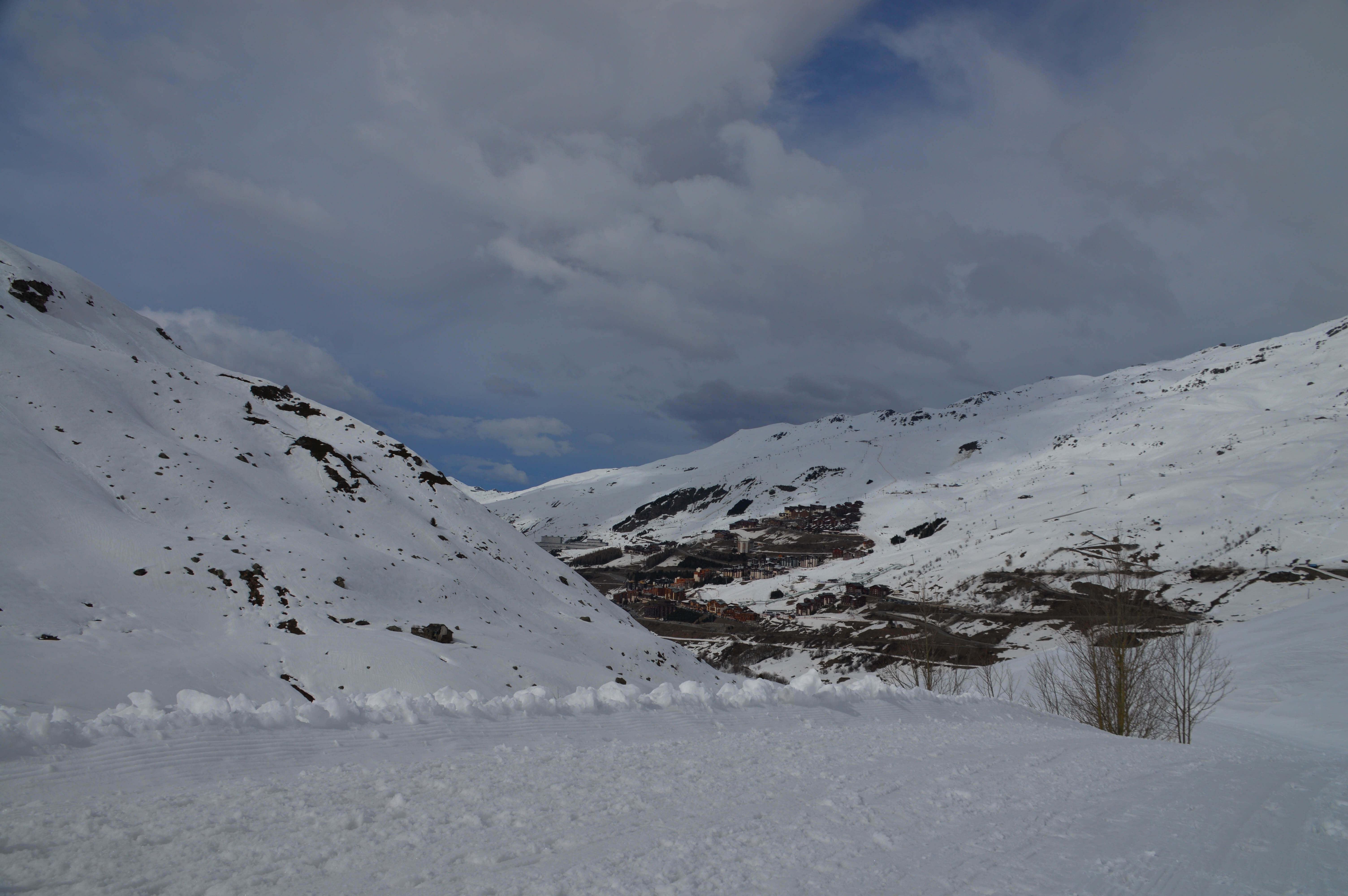 Skivakantie naar Les Menuires