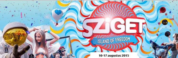 Festival: The Island of Freedom, Sziget 2015