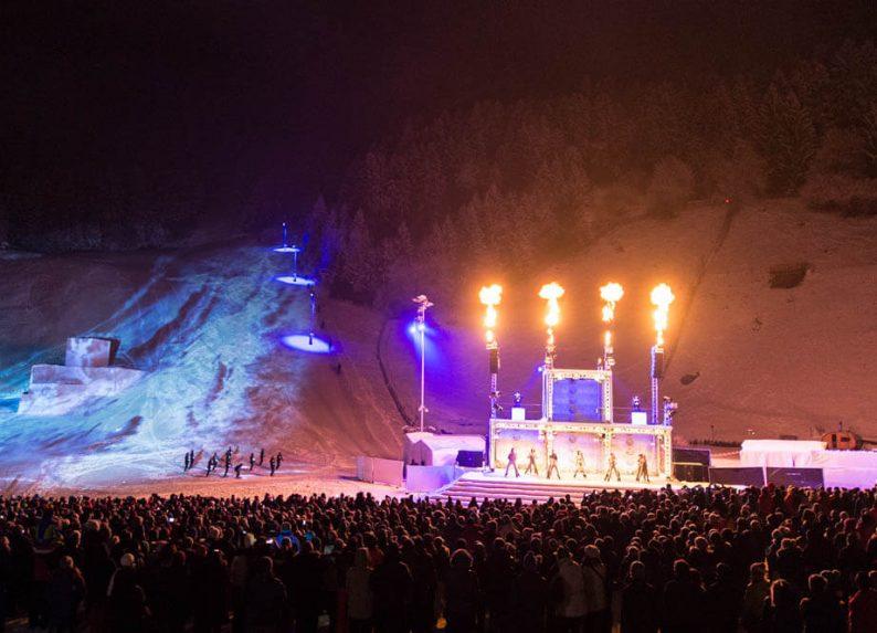 Dans & ski spektakel GAIA Stubai