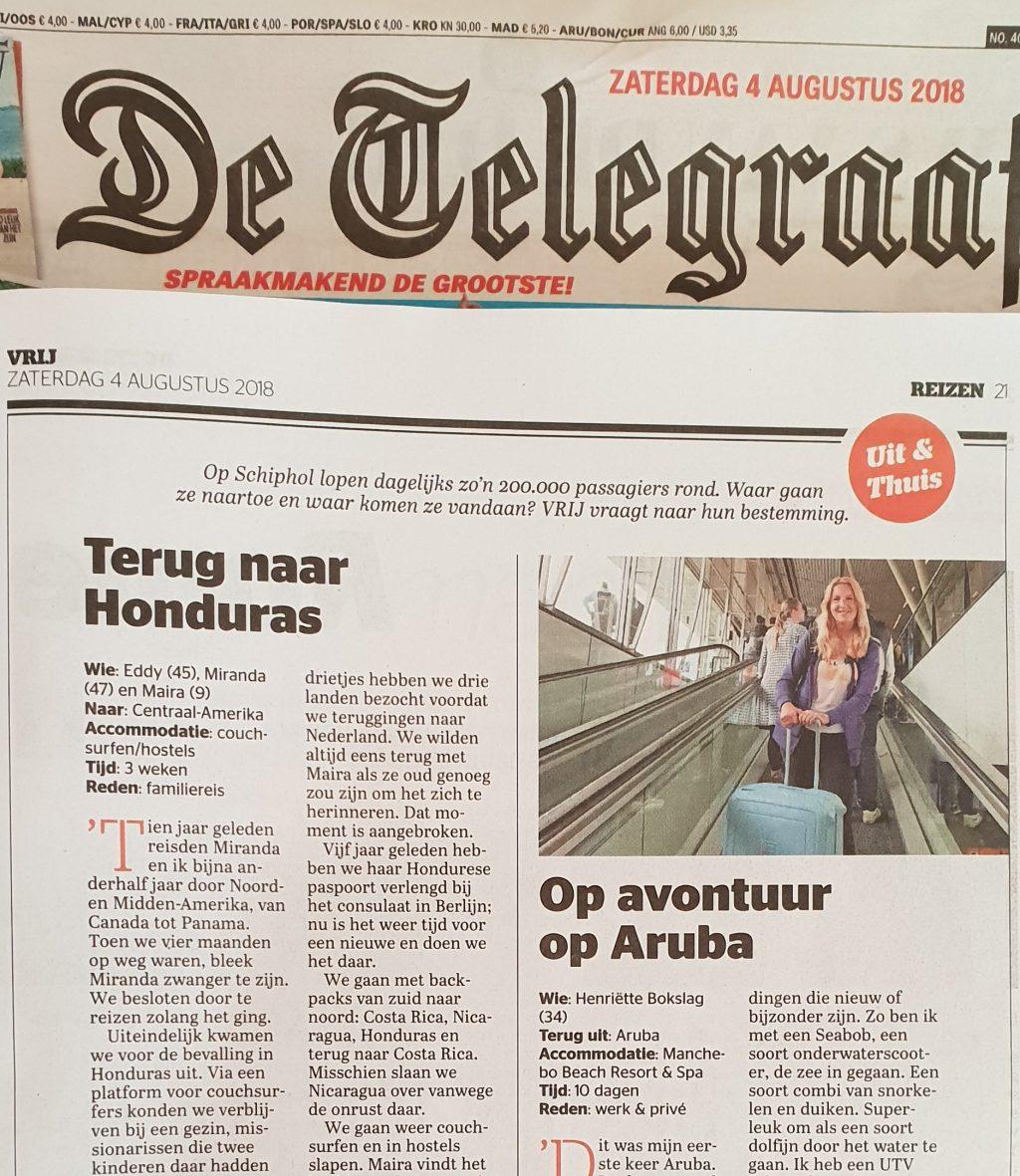Magazine VRIJ - De Telegraaf