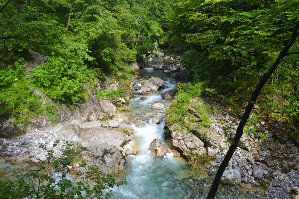 Zadlaščice rivier - Triglav National Park