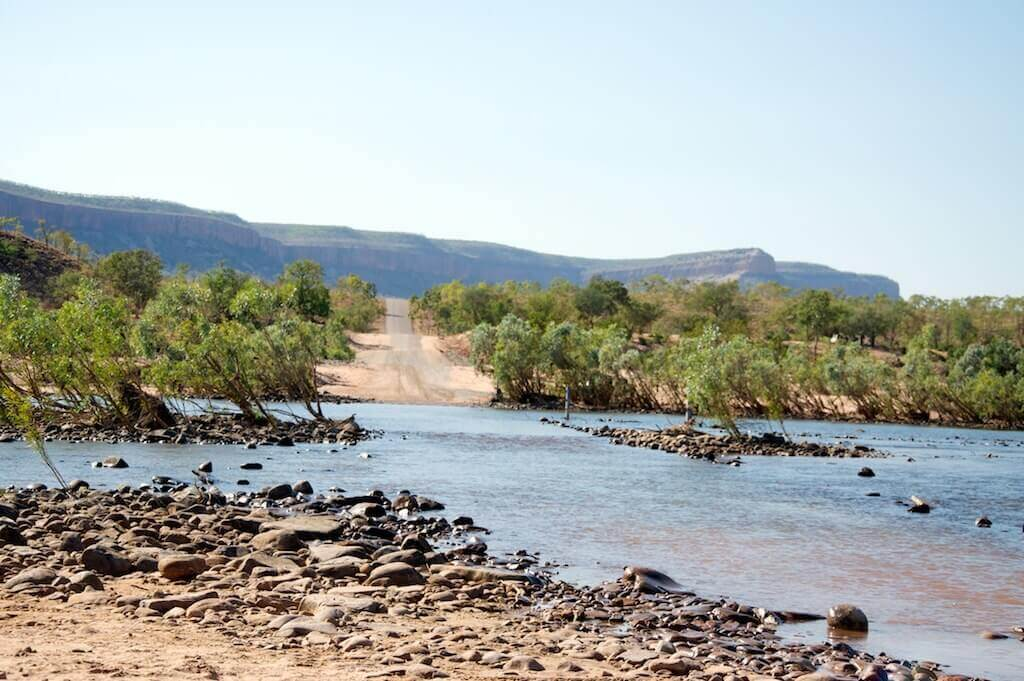 Gibb River Road route
