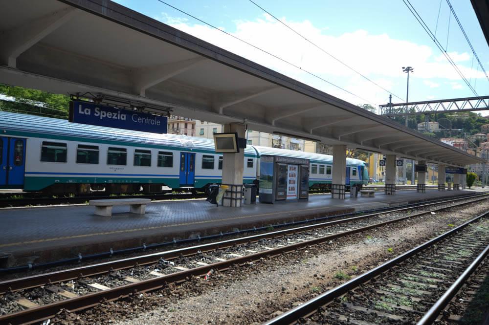 Treinstation La Spezia naar Cinque Terre