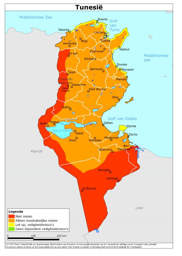 Tunesie Reisdavies - Oktober 2017