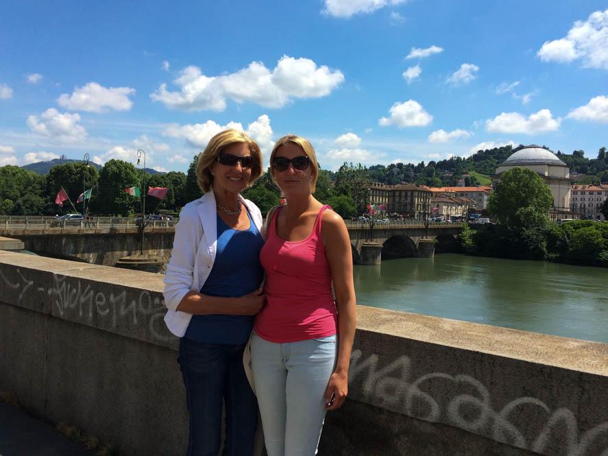 Met Mamma in Turijn