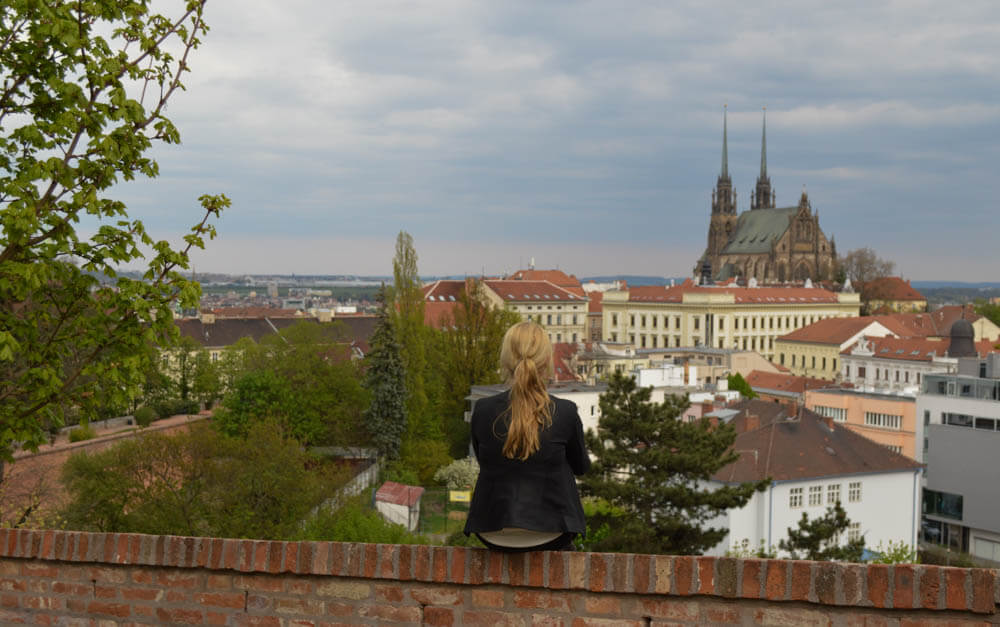 Uitkijkpunt Spielberg Brno