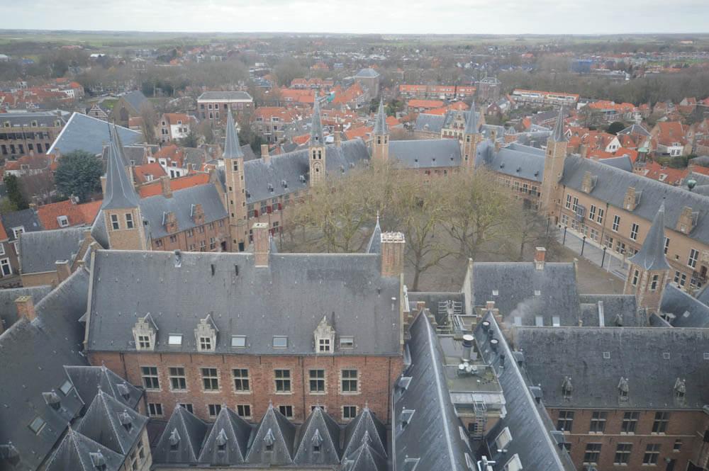 Uitzicht Lange Jan - Middelburg