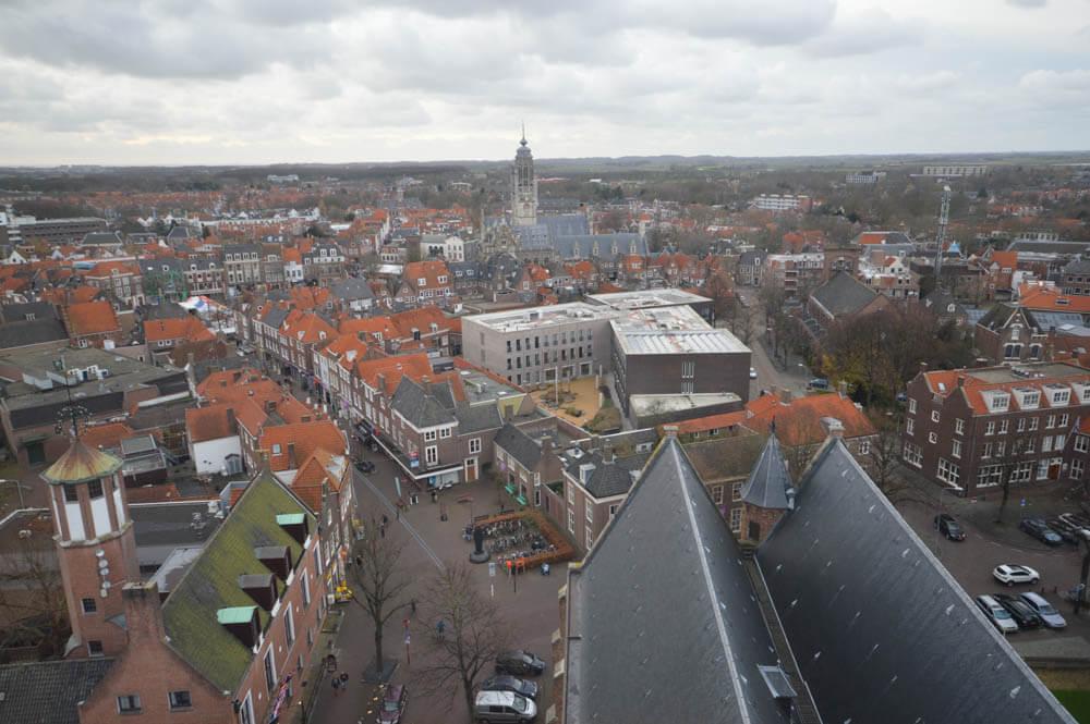 Uitzicht Middelburg