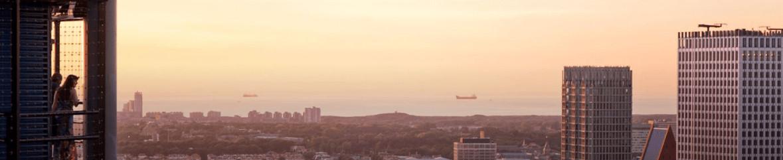 de top van de Haagse Toren