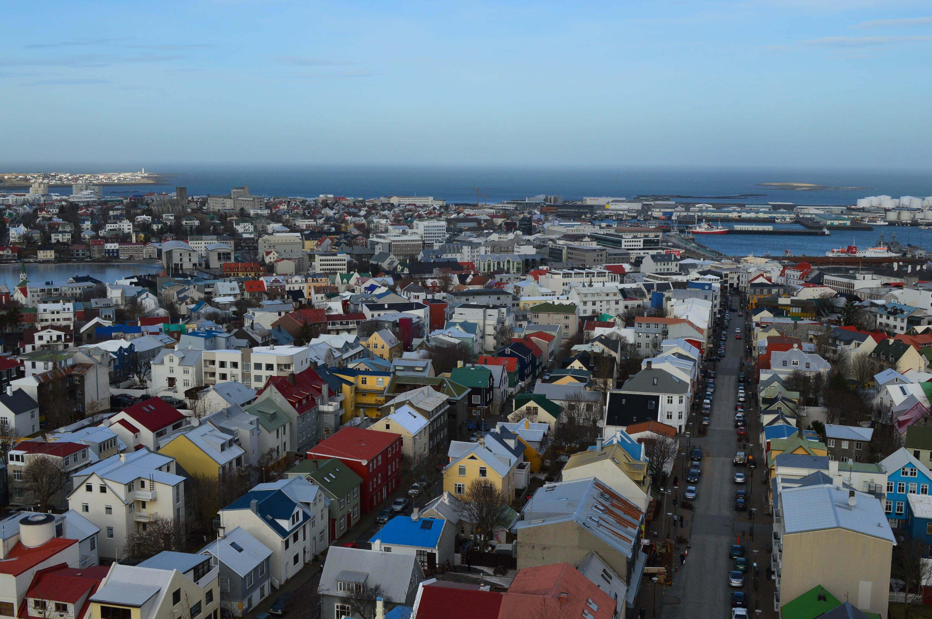Uitzichtpunten Reykjavik