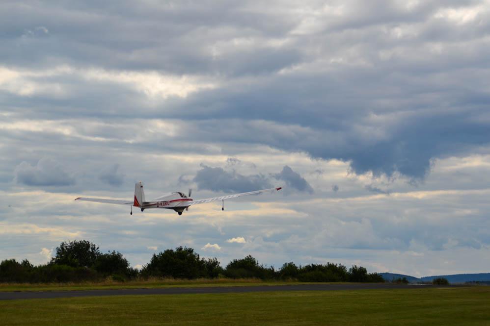 Ultralight-vliegtuig-Eifel