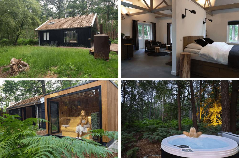 Vakantiehuisje met bubbelbad & sauna
