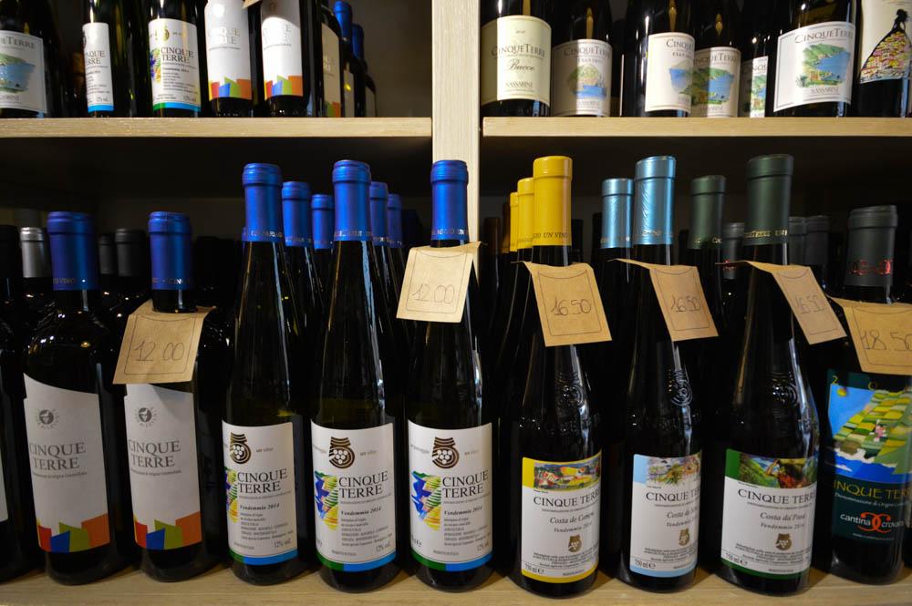 Cinque Terre wijnen