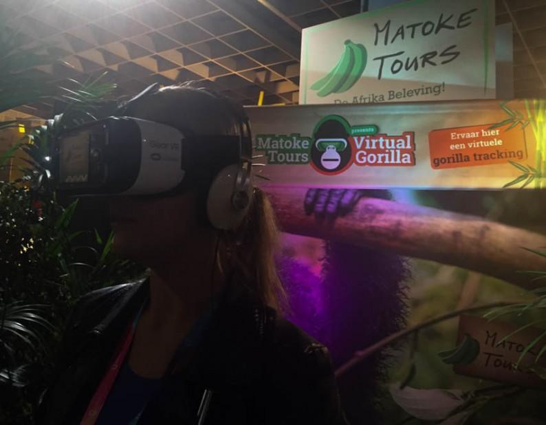 Virtual Reality, genieten van berggorillas vanaf de bank