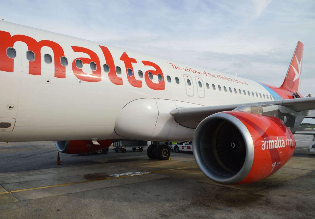 Vliegen naar Malta