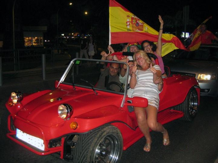 WK Voetbal Spanje