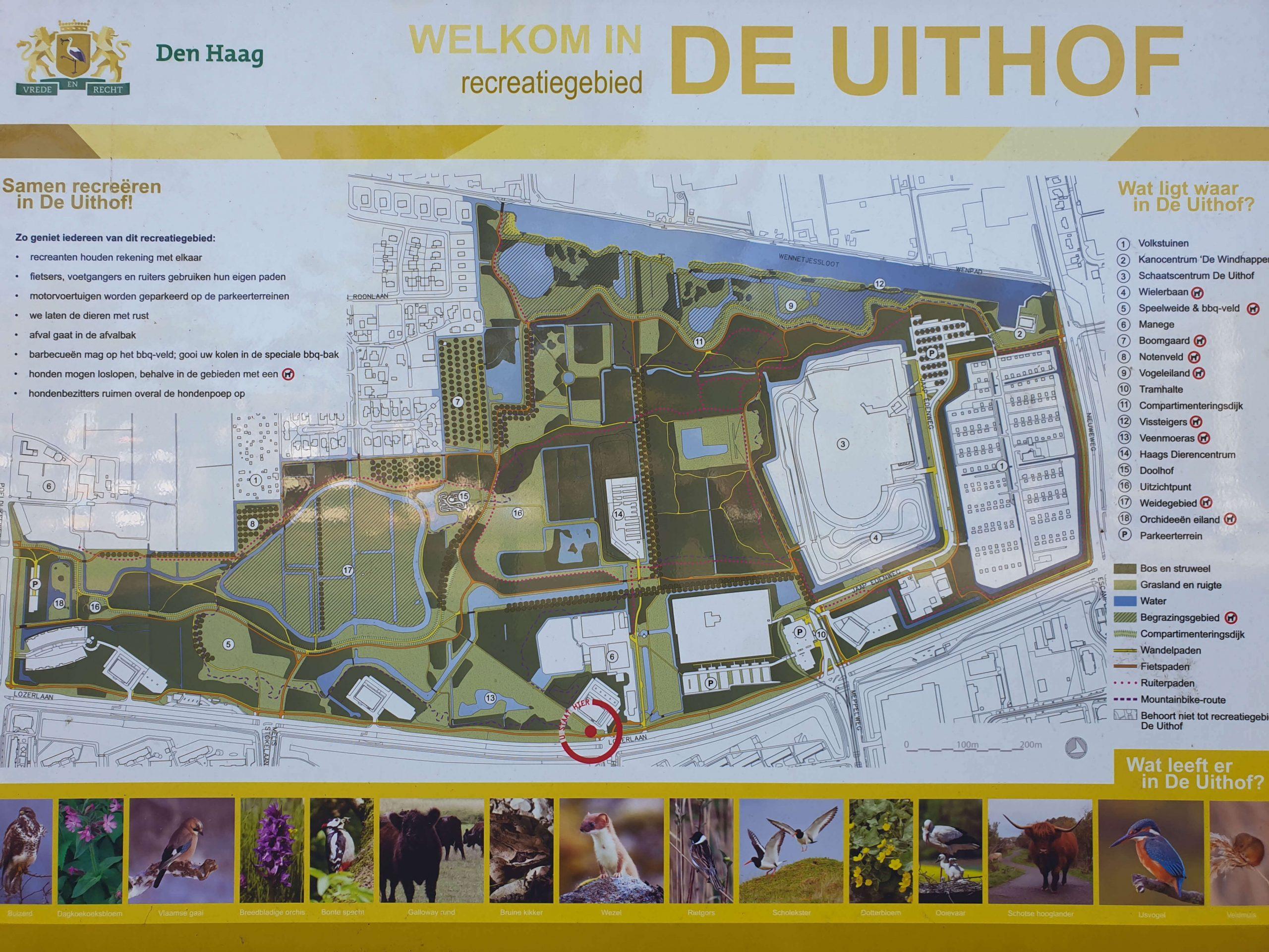 Wandelen Natuurgebied De Uithof + Madestein