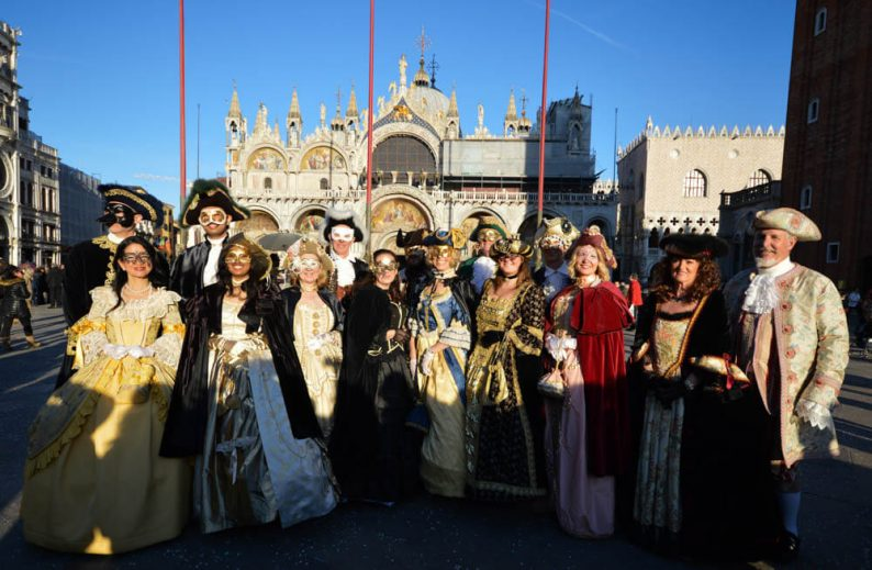 Weekend carnaval Venetie
