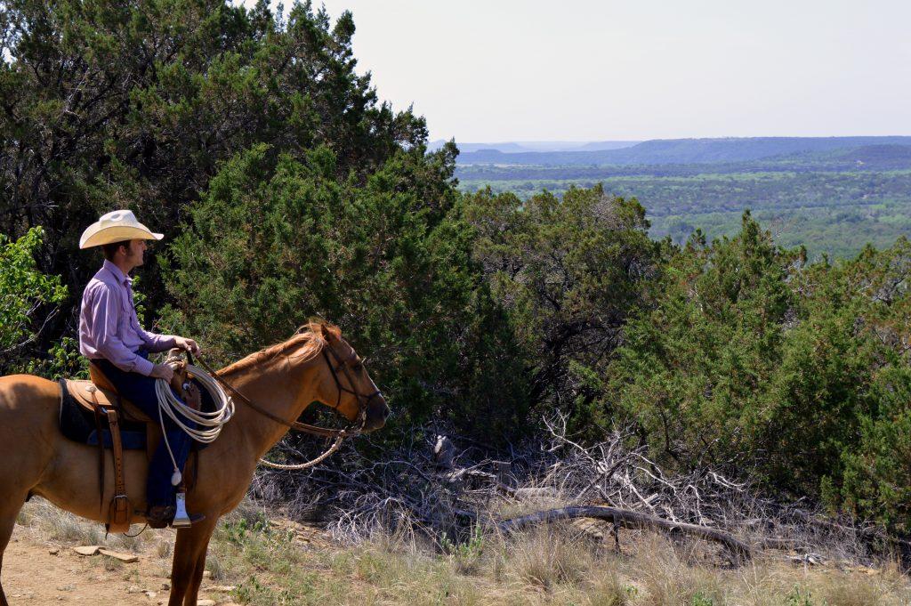 Met een cowboy op stap
