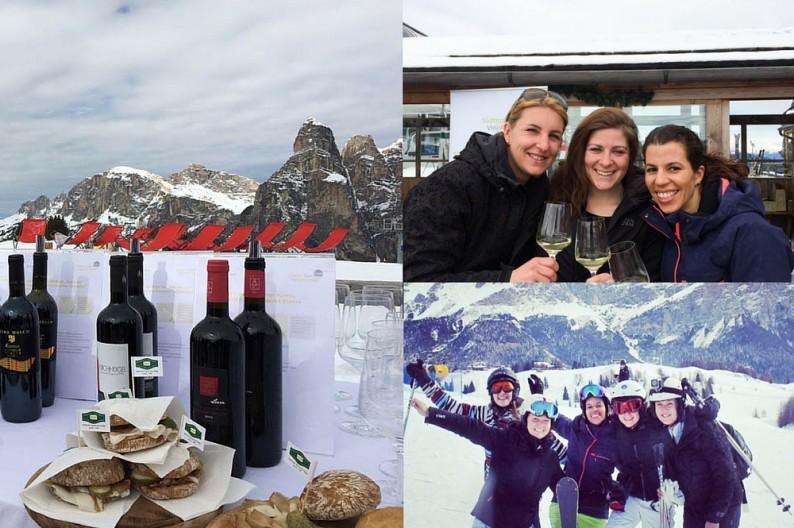 Wine Skisafari, wijnproeverij in Alta Badia Zuid Tirol