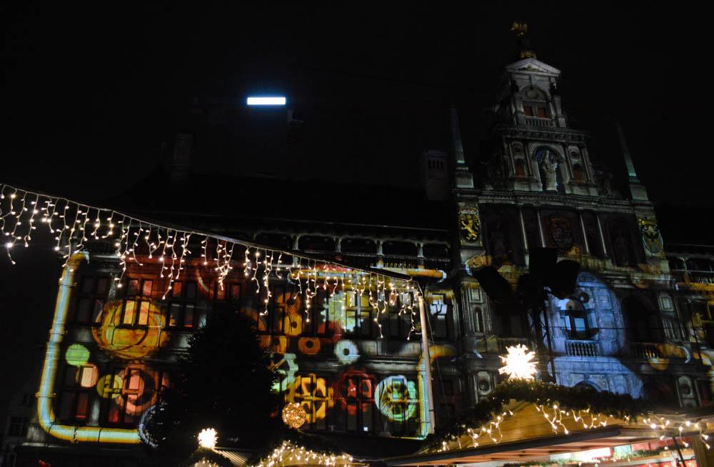 Videomapping show - Antwerpen