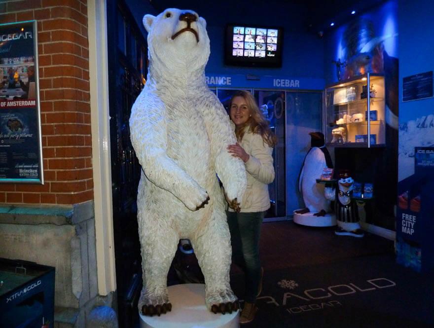 Icebar Amsterdam met korting