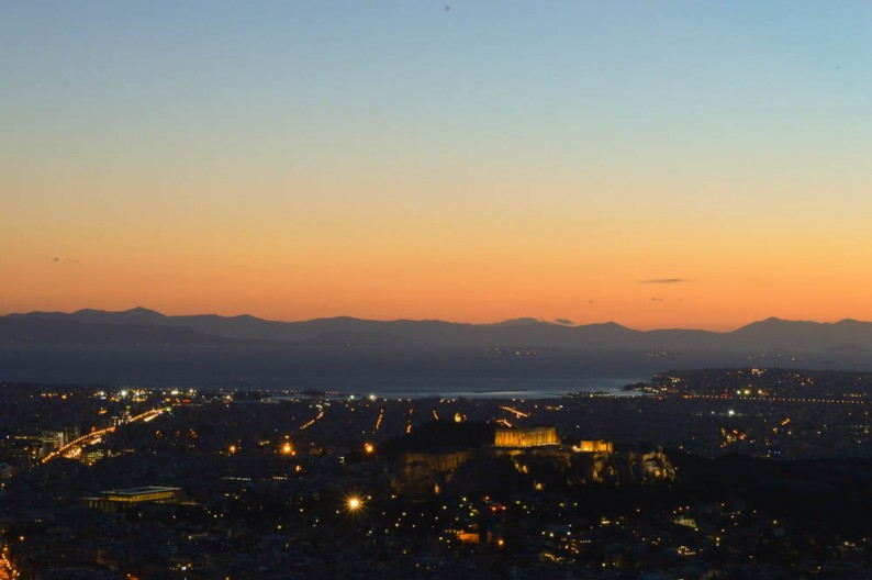 Fotoblog: Zonsondergang Athene