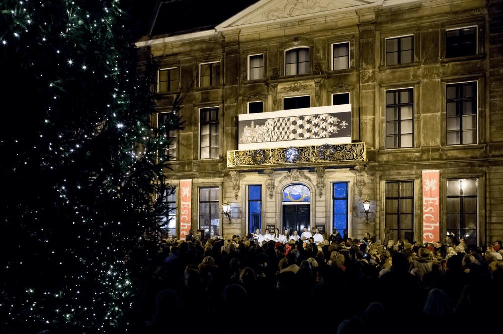 Kerstboomceremonie Lange Voorhout