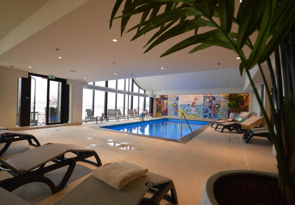 Luxe spa van het Kurhaus