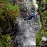 Micro adventure, canyoning in Schotland
