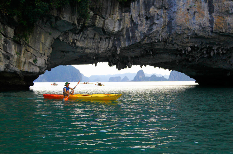 Activiteiten in Halong Bay