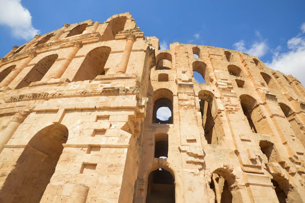 "Amfitheater ""El Djem"" - Tunesie"