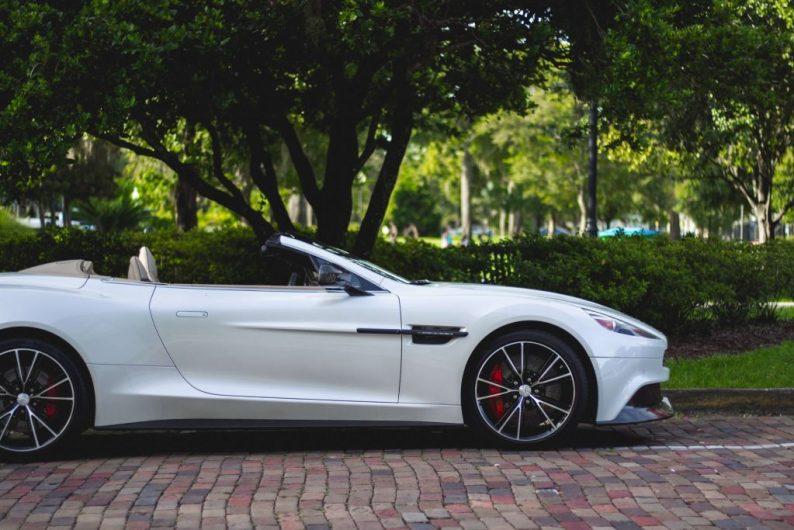 Dagje rijden in een Aston Martin