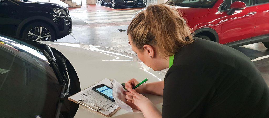 Voorbeeld autohuur contract
