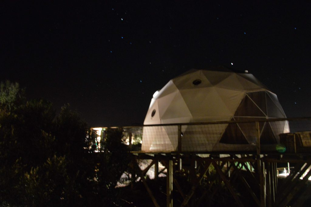 Glamping Alentejo, slaap in een dome!