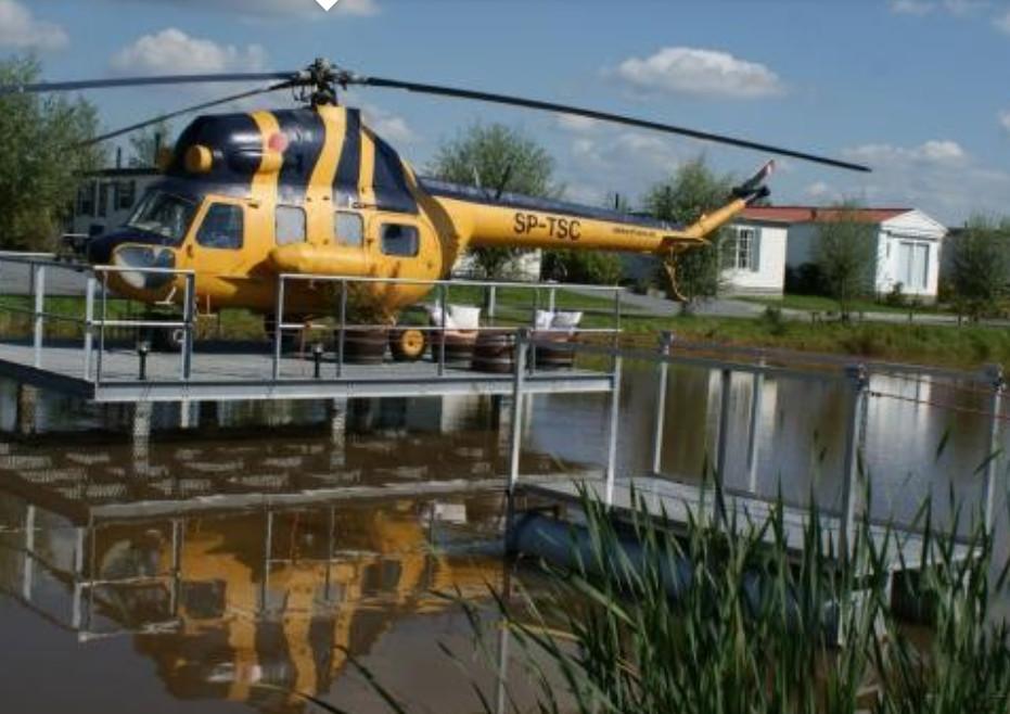 Slapen in een helikopter - Vollenhove - Overijssel