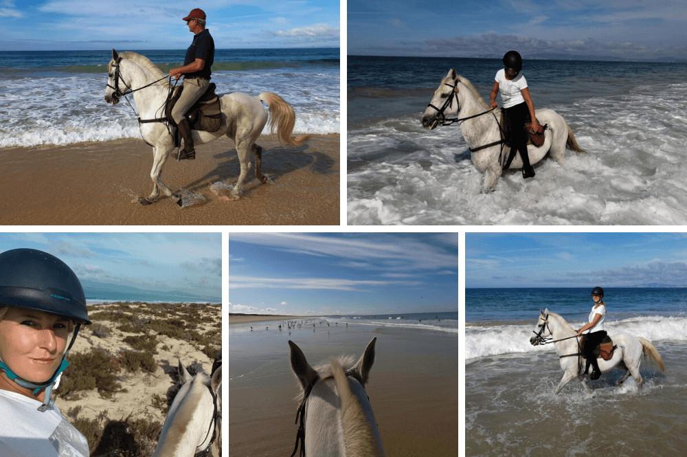 Paardrijden in Portugal zuiden van Lissabon