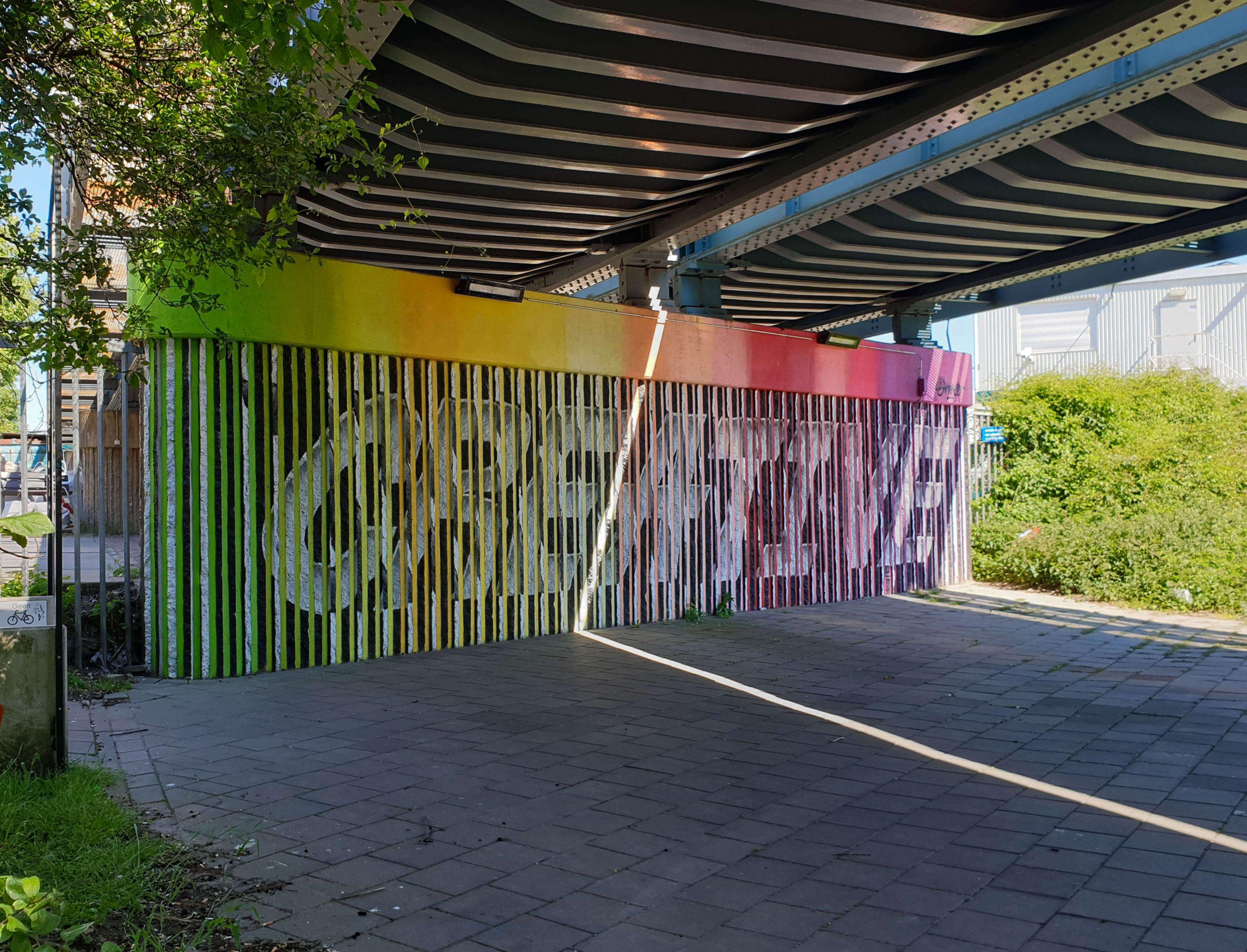 BINK36 - Tunnel Street Art