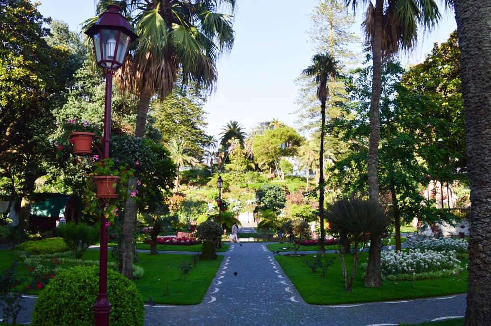 Botanische tuin - Angro de Heroísmo