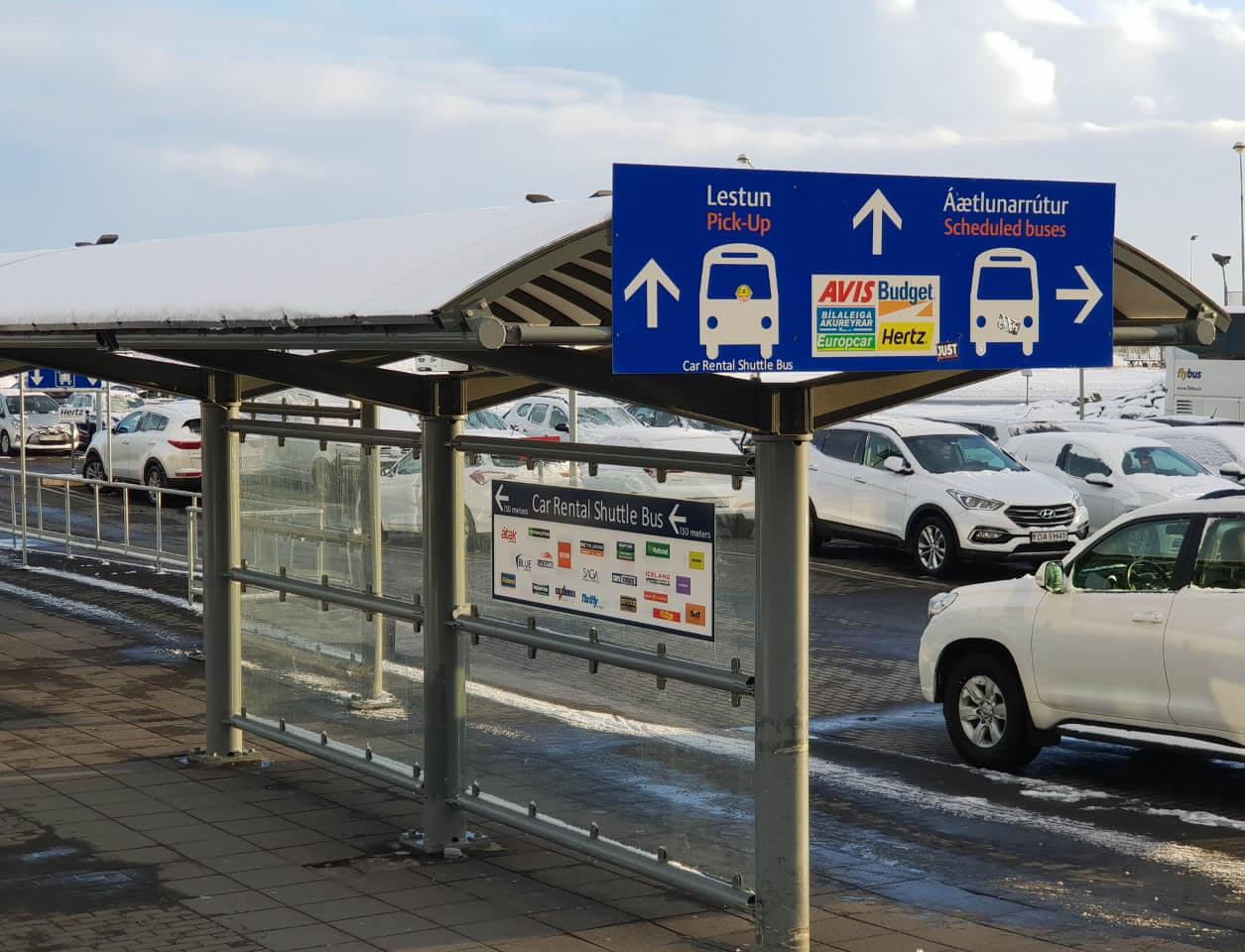 Auto huren op IJsland vanaf Keflavik Airport
