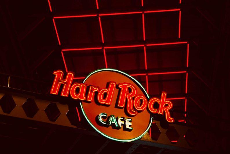 Hard Rock Café op de boulevard van Scheveningen