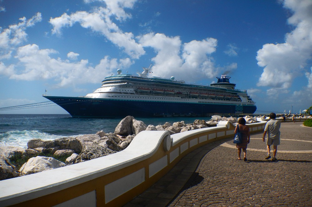 Cruiseschepen haven Curacao