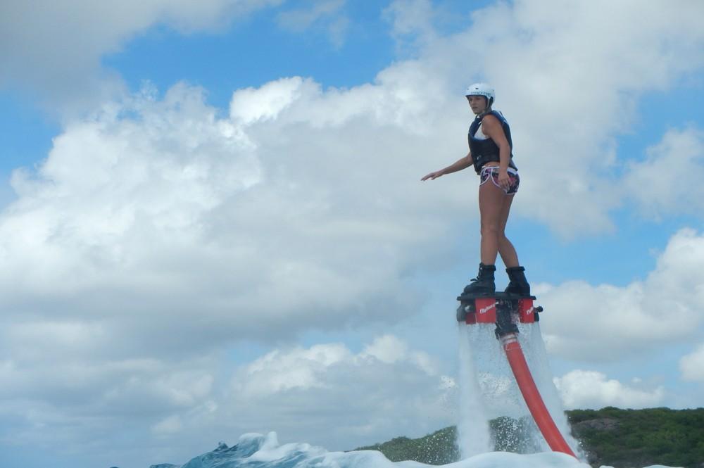 Flyboarden in Curaçao