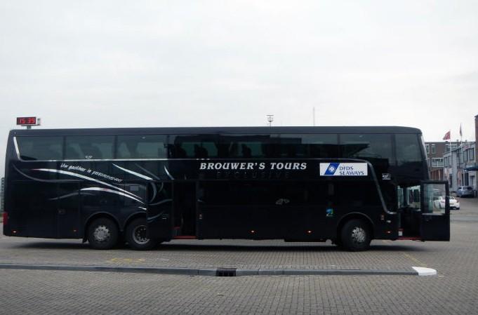 Transferbus DFDS - Amsterdam - IJmuiden
