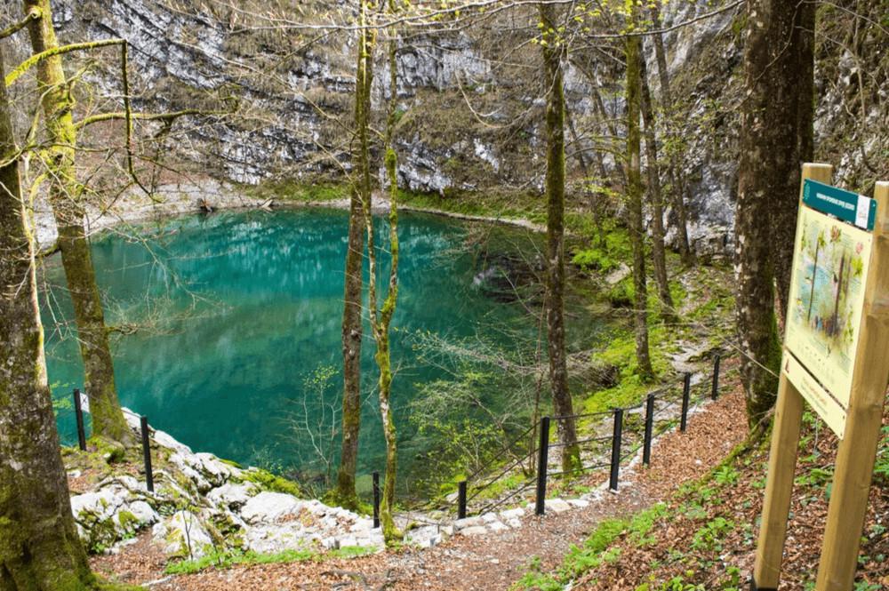 Wild Lake Divje Slovenie